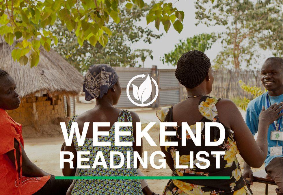 Weekend Reading List : Adaptability